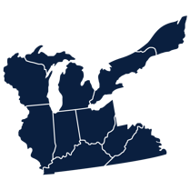 great lakes division map