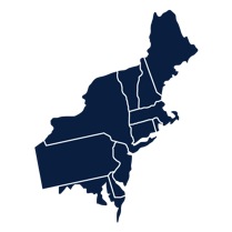 northeast division map