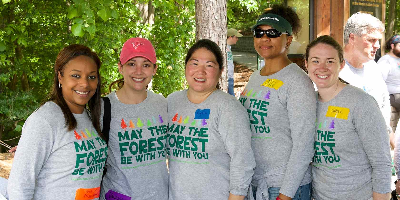 CRH team members at community day