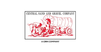 Central Sand and Gravel Company logo