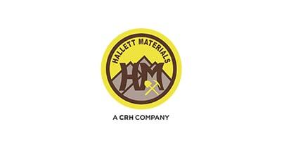 Hallett Materials logo