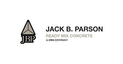 Jack B. Parson Ready Mix Concrete logo