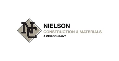 Nielson Construction & Materials logo
